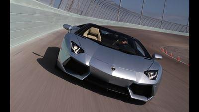 Big Sky Blitz! 2013 Lamborghini Aventador Roadster Guns For 200 MPH in Montana